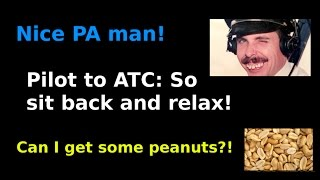 Pilot makes PA to ATC by mistake!
