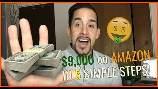 HOW TO MAKE MONEY ON AMAZON IN 5 STEP-BY-STEP WAYS!