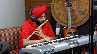 Panchi banu udti phiru on flute and Piano in my Personal Studio