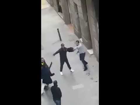 Xxx Mp4 Machete Fight Between Drug Dealers In Barcelona 3gp Sex