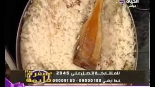 سفرة دايمة  مناقيش ـ طاجن الأرز بالدجاج ـ سلطة الخيار