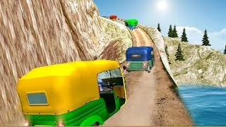RICKSHAW RACE SIMULATOR FREE GAMES #Offroad Tuk Tuk Rickshaw Driving Simulator Games #Games For Kids