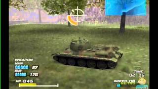 Tank Elite PS2 Multiplayer Co-Op Gameplay ( AgeTec ) Playstation 2