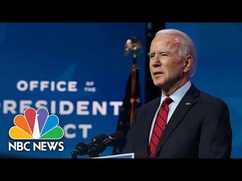 Biden Delivers Remarks On Wilmington NBC News