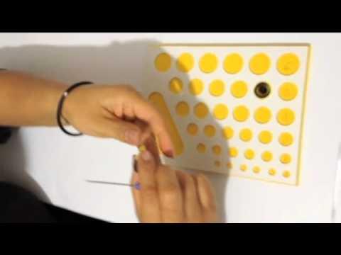 Como hacer una mariposa en filigrana de papel