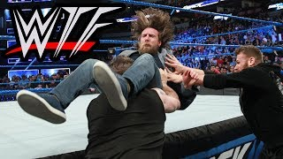 WWE SmackDown Live WTF Moments | Daniel Bryan Sent Back Into Retirement By Kevin & Sami (Mebz)