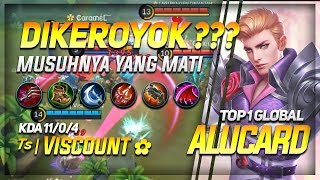 Build Alucard TERSAKIT, DIKEROYOK? Musuhnya Yang MATI Top 1 Global Alucard ᵀˢ | Viscount ✿