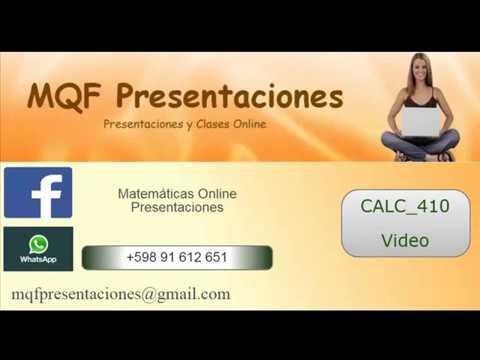 CALC_410    Ejercicio 24 (pag 55)   www.mqfpresentaciones.net