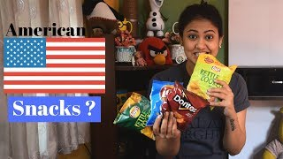 Indian Trying American Snacks