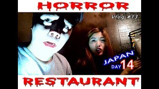 HORROR RESTAURANT Yexel and Mikee JAPAN Day 14 Vlog # 13