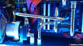 Copper Tubing PC Build - Aventum II 4-way SLI GTX Titan Black