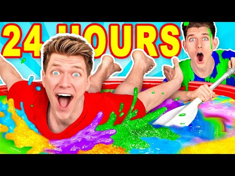 Mixing 10 000 of Slime Challenge & Learn How To Make A Pool of Diy Giant Mystery Slime