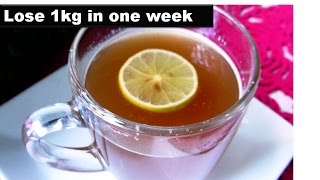 Lemon Ginger detox Tea for Quick Weight loss | | starnaturalbeauties