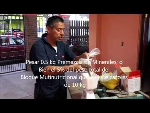 Bloque Multinutricional para Cabras