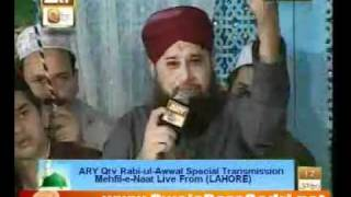 Noor wala aya hai by Owais Raza Qadri - Qtv Mehfil 12 Rabil ul Awal - Special from Lahore