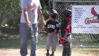 2011-04-09 FNLL Giants - Tyler B scoring