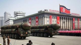 North Korea makes new threats as US tests missile defense system