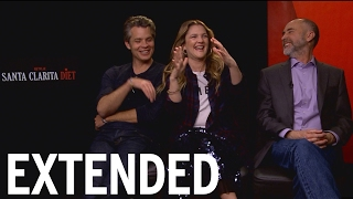 Drew Barrymore, Timothy Olyphant On Zombies And George Clooney   EXTENDED