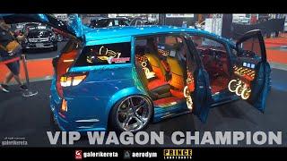 Toyota Wish VIP Wagon Champion - Bangkok International Auto Salon 2017