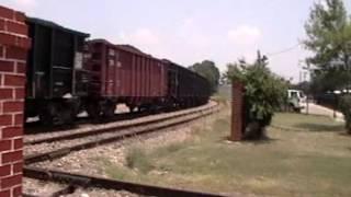 Union Pacific Train through Tyler