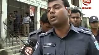 Samim Osman And A Police Officer