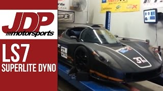 JDP Motorsports - LS7 Powered SuperLite SL-C Dyno