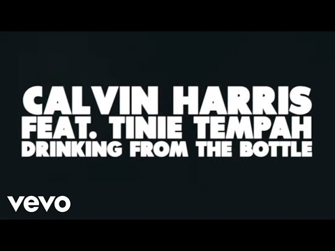 Calvin Harris Drinking From the Bottle Lyric Video ft. Tinie Tempah