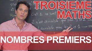 Nombres premiers - Maths - 3e - Les Bons Profs