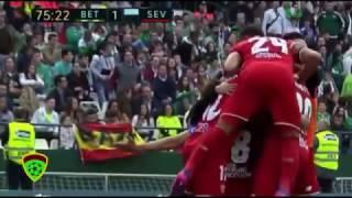 اهداف مباراة اشبيلية وريال بيتيس 2-1 | 25-02-2017 الدوري الاسباني