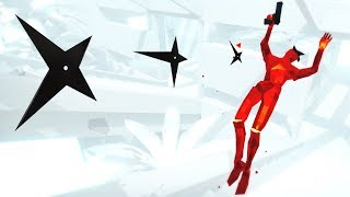 Dodging Bullets and Freezing Time! - SUPERHOT Mind Control Delete Gameplay
