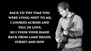 Ed Sheeran  All The Stars Lyrics The Fault In Our Stars Official Soundtrack