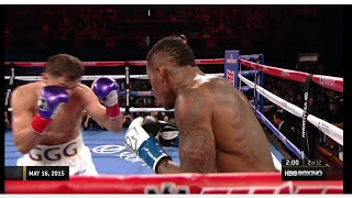 Gennady Golovkin vs. Willie Monroe Jr. 2015 [Full Fight]