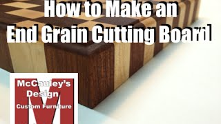 How to make End Grain Cutting Boards - 038