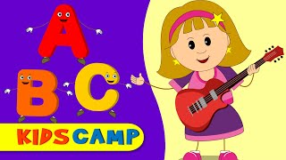 ABC SONG | ABC Songs for Children | ABC Alphabet Songs | Alphabet Adventures by KidsCamp