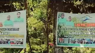 DOMENTER LAUNCHING FORUM PECINTA SUNGAI KABUPATEN MAYBRAT