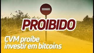 BITCOIN - CVM PROÍBE FUNDOS DE INVESTIR EM BITCOIN | RODRIGO MIRANDA