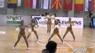 The Cheerleaders of Levski - KK Progress - 'VS' DANCE