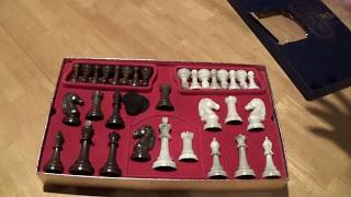 1967 Cavalier Chess Set   Goodwill Score! What is Alabasque?