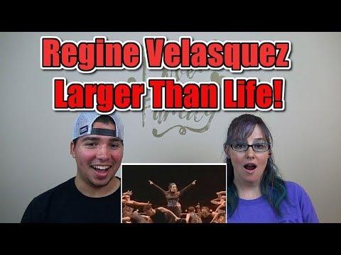 MOM & SON REACTION! Regine Velasquez - Larger Than Life (R2K The Concert) CLEAR COPY