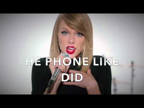 Taylor Swift - I Wish You Would (lyrics)