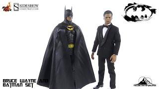 Hot Toys Batman Returns Batman and Bruce Wayne set Video Review
