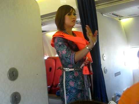 MAS Safety Procedure MH 1449 Malaysian Hospitality