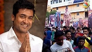 Surya fans prove their strength and support in Kerala Latest S3 Tamil Cinema News