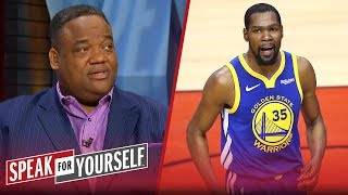 The Warriors' desperation led to Kevin Durant's injury — Jason Whitlock | NBA | SPEAK FOR YOURSELF
