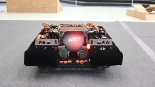 "FIRST Robotics Competition Team 5817 ""Uni-Rex"" 2016 Robot Reveal: Ankylosaurus"