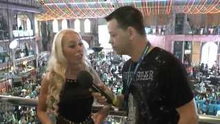 NINA KRISTIN sucht einen TOYBOY | PENTHOUSE / VENUS Playmate Girl | Megapark Mallorca Season Opening