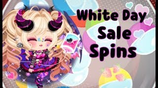 LINE Play - White Day Sale Spins & Magic Box (Chamber Of Apples)