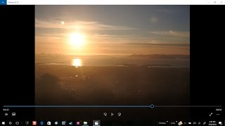 Large planet now view-able during sunset from Berkeley California  12/1/2016