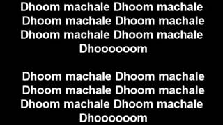 Dhoom again full song lyrics