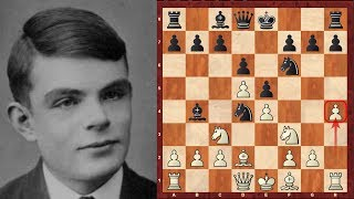 Alan Turing - The first ever Chess program - which had no computer to run on! 1952 (Chessworld.net)